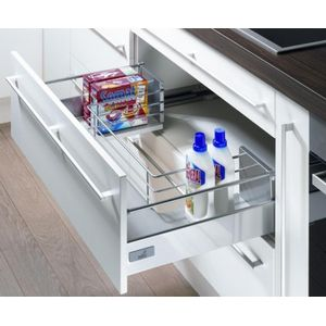 Hettich Innotech 470 mm under the sink drawer 30 kg silent sytem for 900 mm cabinet width