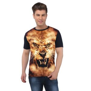 The Lion Face Full Body animal printed t-shirt