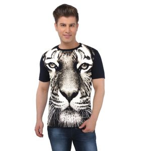The Tiger Face Full Body animal printed t-shirt