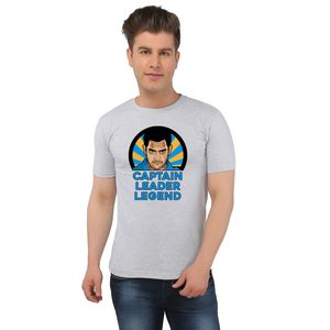 M S Dhoni Captain Leader Legend Fan T-shirt