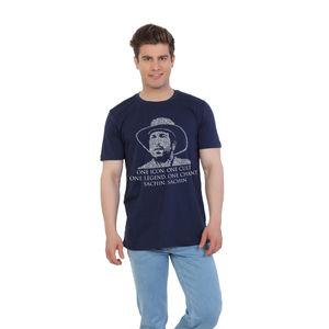 The Sachin Tendulkar Typography Fan T-shirt