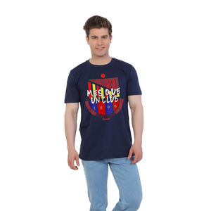 Mes Que Un Club slogan Barcelona Football Fan T-shirt