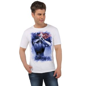 The Smoking Shiva Spiritual White T-shirt
