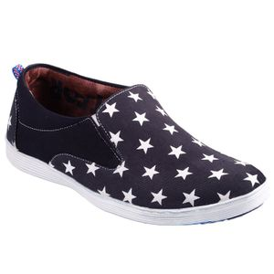 Black Star Converse Shoes