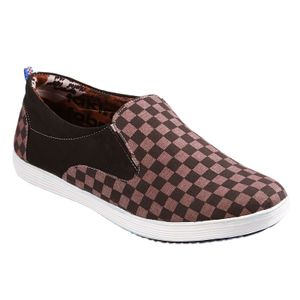Brown Checkmate Converse Shoes
