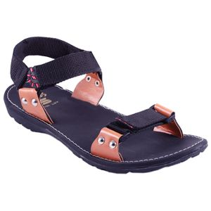 Black Stylos Sandals for Men