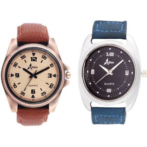 Adino Combo of Royal Analog Watch - For Men  AD6769