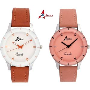 Adino Classic Casino Valentine Analog Watch Model AD7080 - For Women