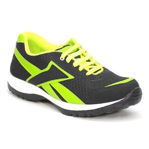 Fundoo Stylos Mens BlackRE Sports Shoes