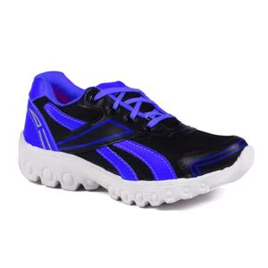 Mens  Black and Blue Sports Shoes