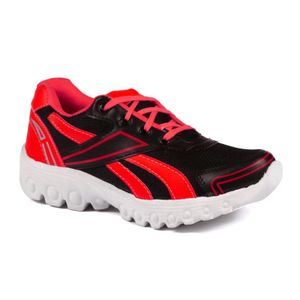 Mens  Black and Red Sports Shoes