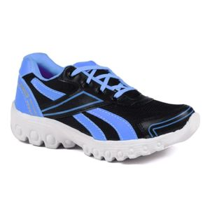 Mens  Black and Sky Blue Sports Shoes
