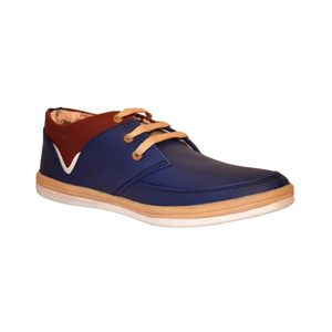Blue Smart Casual Shoes