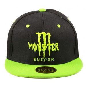 Stylos Black & Green Snapback Cap