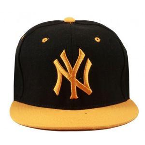 Stylos Black & orange snapback Cap