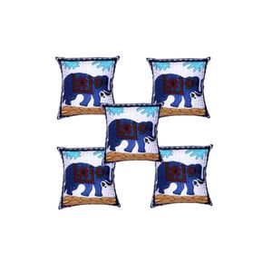 Ari Embroidery Cushion Cover-Set of 5