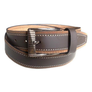 BROWN 100% PURE LEATHER STYLISH BELT VLB090