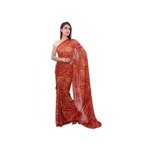 Brown Color Viscose Saree  -Abeez Collection's