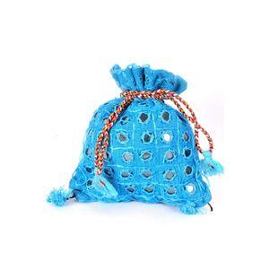 Stylish Cotton Potli bags Rajasthani Embroidery-Set of 5