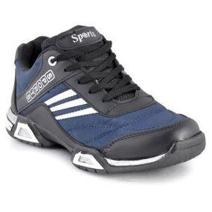 Stylos Mens Blue Sport Shoes