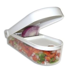 Vegetable & Fruit Chopper with Choping Blade & Cleaning Tool