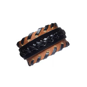 Handcrafted Genuine Leather Unisex Cuff Wristband