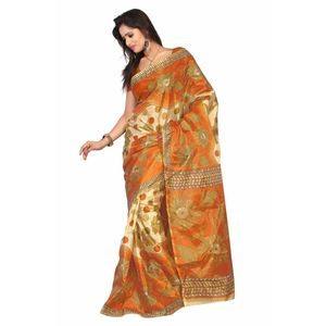 Floral Print  Art Silk Saree