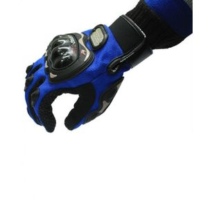 PRO BIKER BIKE RACING RIDING GLOVES (L, BLUE)