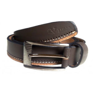 BROWN 100% PURE LEATHER STYLISH BELT VLB091