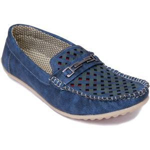 Stylos Loafers  (Blue)