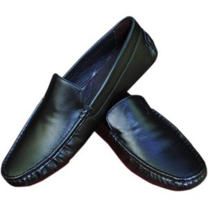 Stylo India Loafers  (Black)