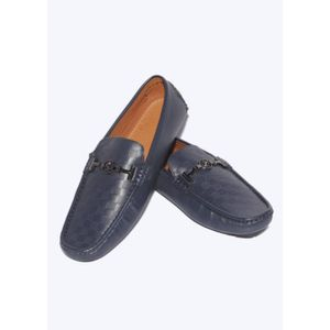 Stylo India Loafers  (Blue)