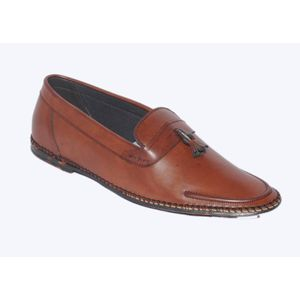 Stylo India Loafers  (Brown)