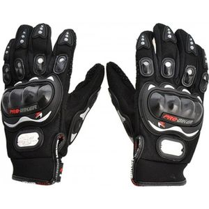 PRO-BIKER RIDING GLOVES (XL, BLACK)