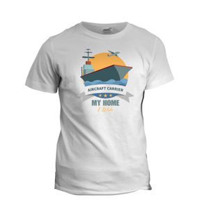Aircraft Carrier Home I Wish Tshirt 01