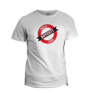 Boycott Made in China Tshirt