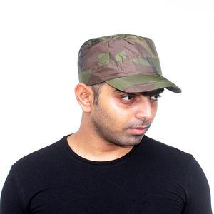 Camo Print Military Cap - 02