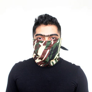 Camouflage Scarf - 04