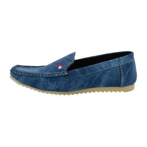 LeatherKraft Men's Denim Loafers