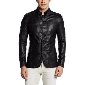 Fort Collins Men's Leather Coat