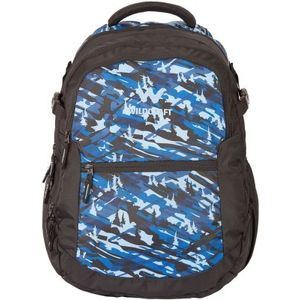 WILDCRAFT CAMO 6 BACKPACK BAG - BLUE