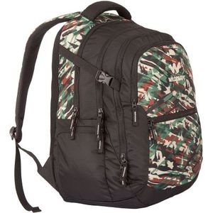 WILDCRAFT CAMO 6 BACKPACK BAG - GREEN