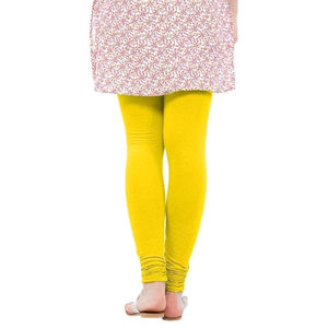 Delux Look Yellow Cotton Leggings