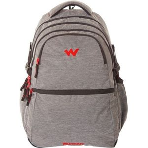 WILDCRAFT MELANGE 8 BACKPACK BAG - BLACK