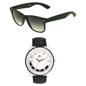 Rologi Black Watch with Sunglass