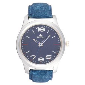Rologi Blue Analog Watch
