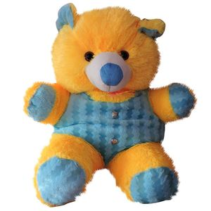 Yellow & Sky Blue Medium Size Teddy