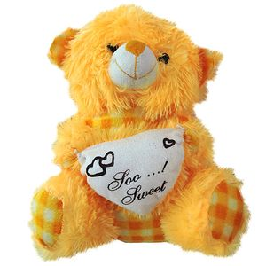 Cute Yellow Teddy Bear (SMALL)