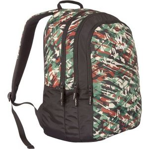 WILDCRAFT CAMO 2 BACKPACK BAG - GREEN