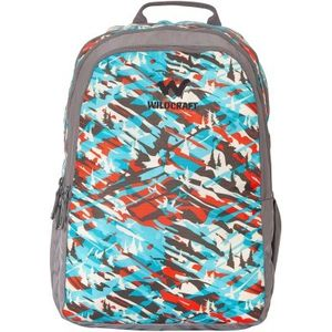 WILDCRAFT CAMO 2 BACKPACK BAG - TURQUOISE